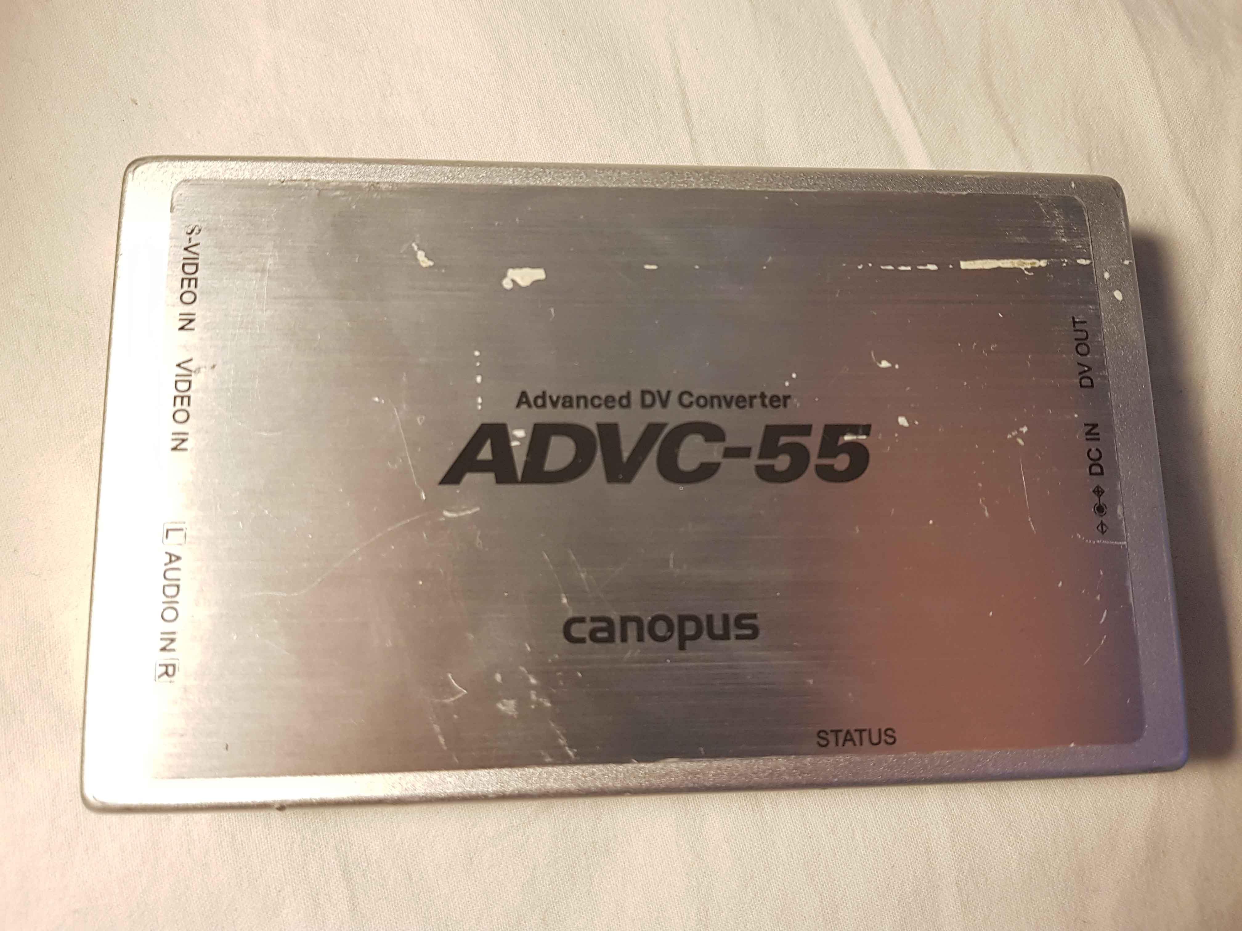 Canopus ADVC-55 kamera